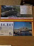 Papeletas loteria - foto