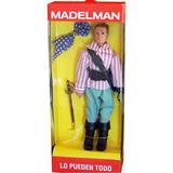MADELAMAN Figura Pirata Muñeco - foto