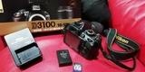 Cámara réflex Nikon D3100 como nueva - foto