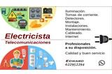 Electricista / telecomunicaciones. - foto