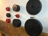 Pesas y barras gym - foto