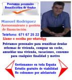 PRÉSTAMO Y REUNIFICACIÓN DE 5000 A 50000 - foto
