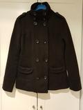 Abrigo paño negro - foto