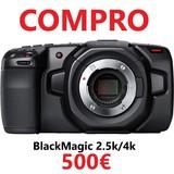 Compro Blackmagic 2.5k y 4k pago 500 - foto