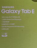Samsung galaxy tab e - foto