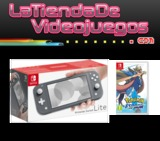 Nintendo Switch Lite Pack Pokemon espada - foto