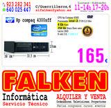 Ordenador hp4300 i3 de 4Gb ram 250Gb HD - foto