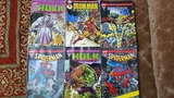Marvel Spiderman\'Hulk-Thor-Iron Man - foto