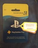 Playstation plus 1 aÑo tarjeta - foto