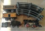antiguo tren ives escala 0 años 50 - foto