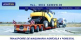 TRANSPORTE DE COSECHADORAS - foto