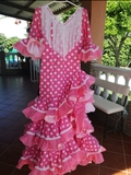 Traje de flamenca - foto