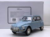 1:18 Citroën Dyane 6 año 1967 color Azul - foto