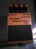 Pedal guitarra Boss DS2 distorsión turbo - foto