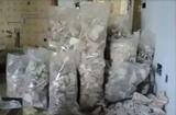 limpieza de locales mueble escombros - foto
