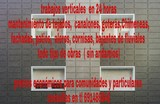 Trabajos verticales ( sin andamios) - foto