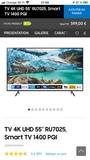 Smart TV Samsung 55 Nuevo y perfecto - foto