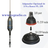 SIRIO PERFORMER 5000 3/8 Antena CB 27Mhz - foto