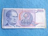 Yugoslavia,5000 Dinares 1985 Tito - foto