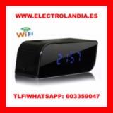 8Mr  Despertador Espia HD Vision Nocturn - foto