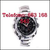 Mj5msy reloj espia de acero full hd - foto