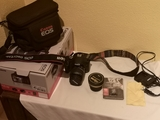 Cámara Canon EOS 500D más accesorios. - foto
