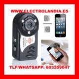 9Uuq  Mini Camara IP HD Vision Nocturna  - foto