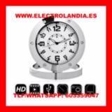 ijJ  Reloj Sobremesa Camara Espia HD - foto
