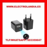 9Z  Cargador USB Camara Espia HD - foto