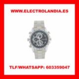 j2  Reloj Metalico Camara Espia HD - foto