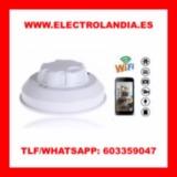 W4  Detector de Humo Camara Espia HD Wif - foto