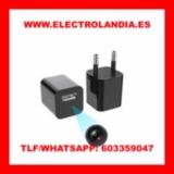 D0a0  Cargador USB Camara Espia HD - foto