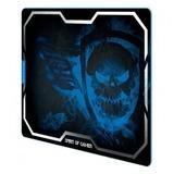 Alfombrilla blue smokey skull xl 43.5*32 - foto