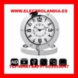 1  Reloj Sobremesa Camara Espia HD - foto