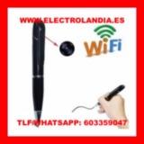 t1I  Boligrafo Espia HD Camara Wifi - foto