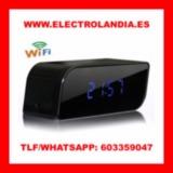 X4  Despertador Espia HD Vision Nocturna - foto