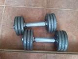 mancuernas (pesas) - foto