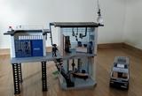 Comisaría y furgón de policía Playmobil - foto