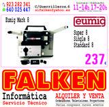 Proyector Eumig Mark 8 funcionando - foto