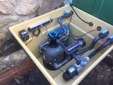 Instalador sistema de filtración piscina - foto