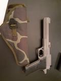 pistola semiautomática gas - foto