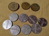 lote monedas antiguas - foto