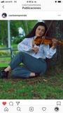 Profesora de violín - foto