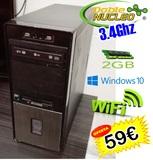 Dualcore 3.4ghz 700hd  2ram w10  wifi - foto