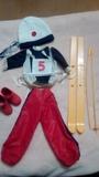 Conjunto esquiadora Nancy de famosa - foto