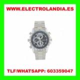 rCb  Reloj Metalico Camara Espia HD - foto