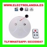 S  Detector de Humo Camara Espia HD - foto