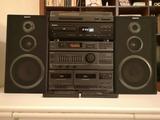 Cadena Sonido Sony + Tocadiscos + Mueble - foto