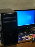 Ordenador más monitor - foto