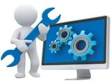 configuración, reparación, mantenimiento - foto